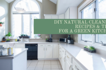 natural cleaning kitchen DIY recipes